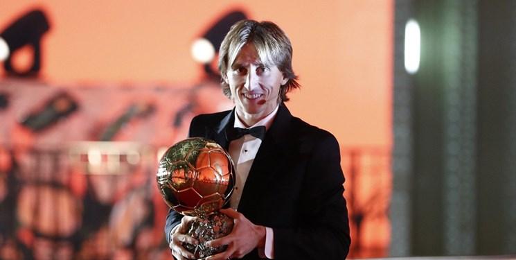 مودریچ مرد سال فوتبال جهان