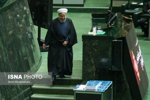 روحانی سهشنبه برای تقدیم بودجه به مجلس میرود