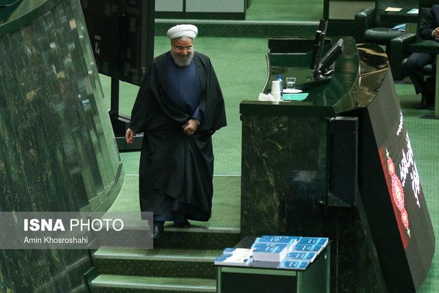 تصویر از روحانی سهشنبه برای تقدیم بودجه به مجلس میرود