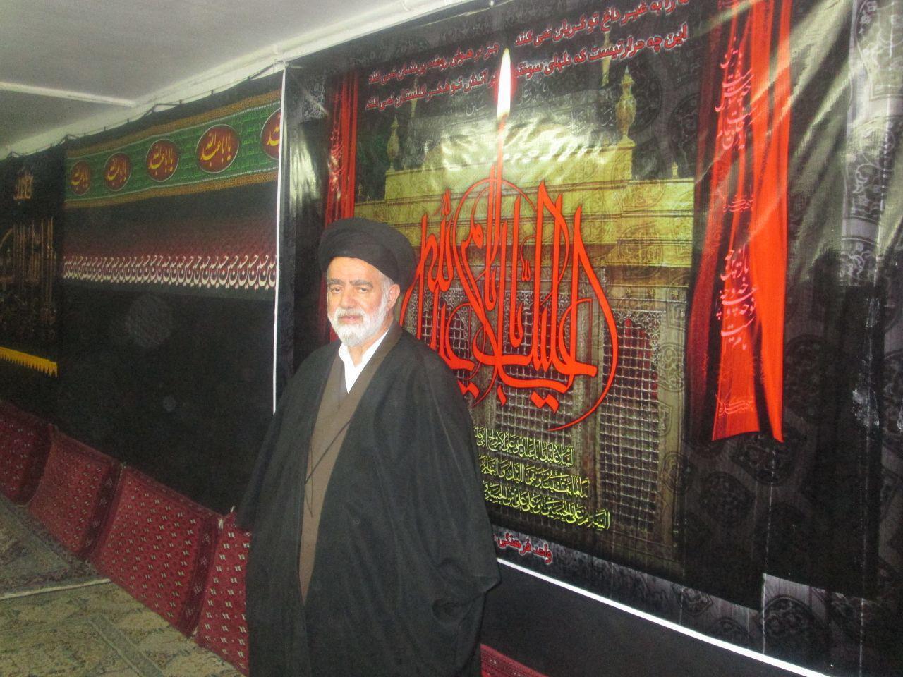 تصویر از حجت الاسلام حسینی نژاد درگذشت
