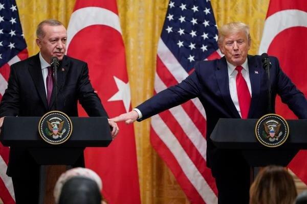 تصویر از اردوغان: نامه ترامپ را به سطل زباله نینداختم