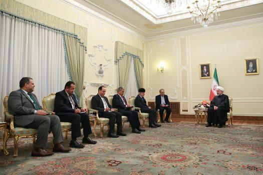 بیم و امیدهای منطقهایِ روحانی در دیدار با وزیر خارجه عمان