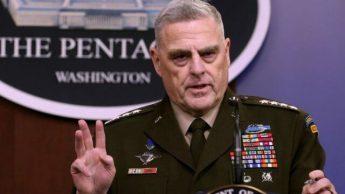 رئیس ستاد مشترک ارتش آمریکا: خویشتنداری در برابر ایران بهترین پاسخ است