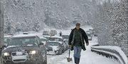 بارش برف و باران در ۱۵ استان