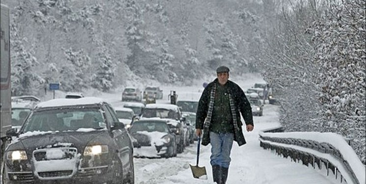 Photo of بارش برف و باران در ۱۵ استان