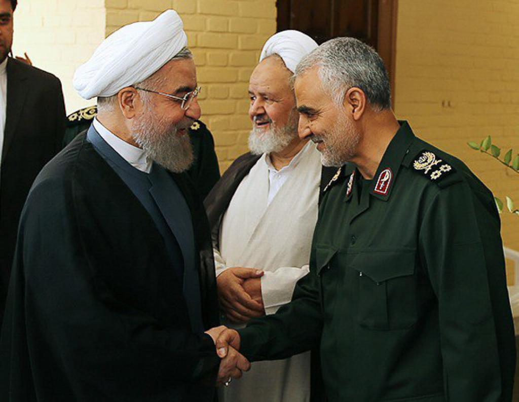 تصویر از واکنش روحانی به شهادت سردار سلیمانی: انتقام خواهیم گرفت