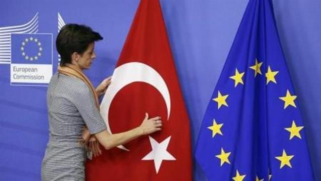 تصویر از اتحادیه اروپا ترکیه را تحریم میکند