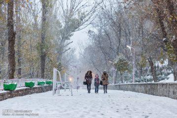 سرما میهمان ناخوانده در اکثر مناطق کشور؛ بارشی جدید در راه است