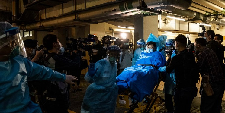 """تصویر از """"ووهان"""" چین از ترس """"سارس"""" قرنطینه شد"""