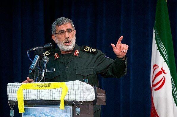 تصویر از سردار قاآنی: انتقام خون شهدای مقاومت را از آمریکا میگیریم