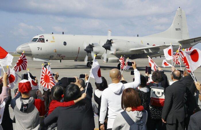 تصویر از ژاپن نیروی نظامی به خاورمیانه اعزام کرد