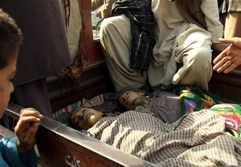 تصویر از حمله هوایی آمریکا به افغانستان جان 11 زن و کودک را گرفت