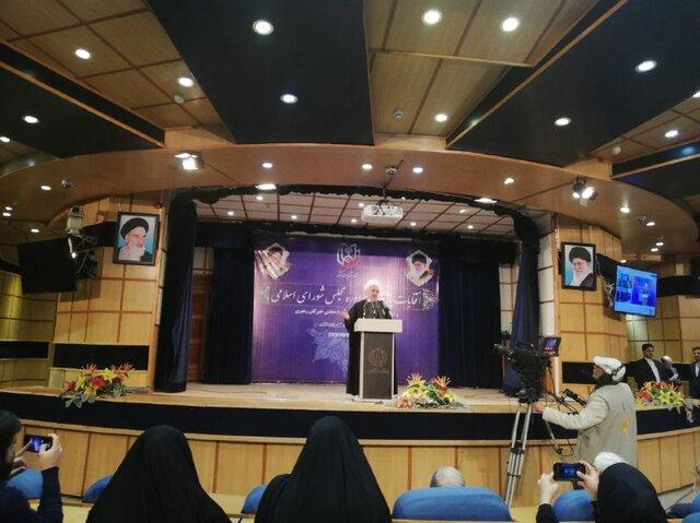 Photo of رئیس جمهور در ستاد انتخابات: امیدواریم بهترینها انتخاب شوند