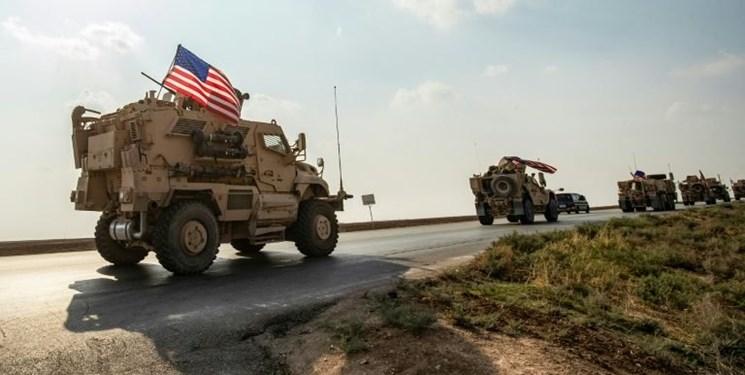 Photo of آمریکا ۳۰۰ کامیون دیگر حامل تجهیزات به شرق سوریه فرستاد