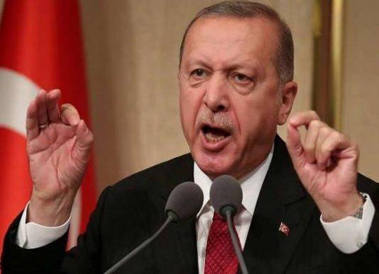 تصویر از اردوغان ارتش سوریه را تهدید کرد