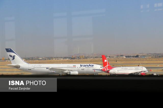 تصویر از دانشجویان ایرانی مقیم چین بامداد امروز وارد کشور شدند