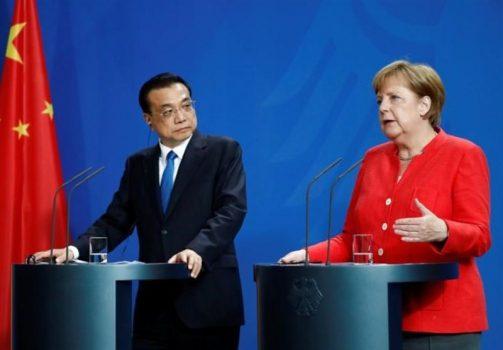 رایزنی تلفنی نخستوزیر چین با مرکل درباره کرونا
