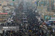 مراسم راهپیمایی ۲۲ بهمن در سراسر کشور آغاز شد