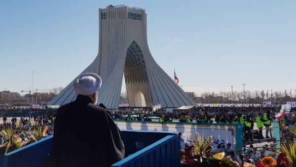 سخنان روحانی در مراسم ۲۲ بهمن