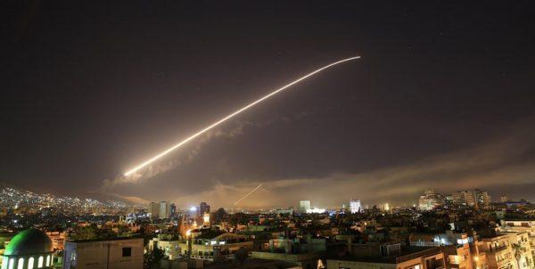 حمله رژیم صهیونیستی به اطراف فرودگاه دمشق