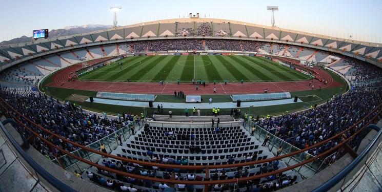 تصویر از قسمتهای مختلف ورزشگاه آزادی ضد عفونی شد