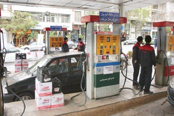 تصویر از اطلاعیه جدید در پمپ بنزین ها برای مقابله با کرونا