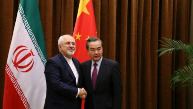 تصویر از قدردانی ظریف از کمکرسانی پکن در گفتوگو با وزیر خارجه چین