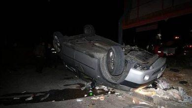 Photo of یک کشته و دو مصدوم بر اثر واژگونی خودروی سواری