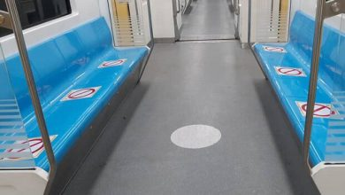 تصویر از مترو تهران علامت گذاری شد