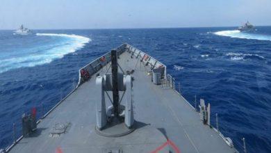 تصویر از تحرک مشکوک دریایی ترکیه در شرق مدیترانه