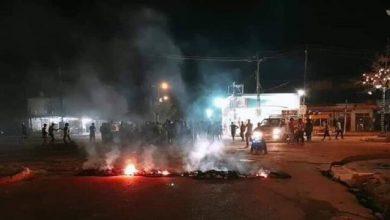 تصویر از اعتراضات جدید در جنوب عراق با چند زخمی