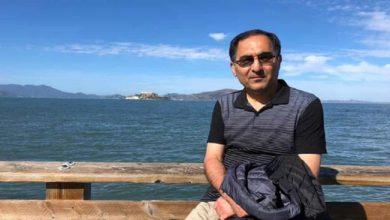 تصویر از دانشمند ایرانی زندانی در آمریکا به کرونا مبتلا شد