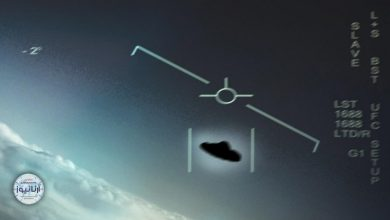 تصویر از ماجرای یک شی ناشناس در آسمان ایران