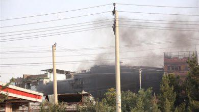 تصویر از حمله انتحاری به بیمارستان پزشکان بدون مرز در کابل