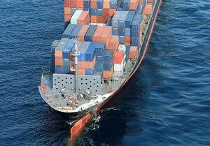 تصویر از حادثه برای کشتی باری ایران در آب های سنگاپور