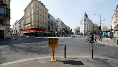 تصویر از فرانسه ۲۷ درصد از فعالیتهای اقتصادی خود را از دست داد