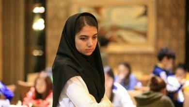 تصویر از یک پله صعود خادم الشریعه در مسابقات آنلاین فدراسیون جهانی