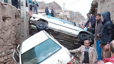 تصویر از تخریب ۱۰۰ درصدی برخی منازل روستایی قوچان در سیلاب عصر جمعه