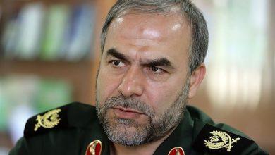 تصویر از واکنش مقام ارشد سپاه به رزمایش ارتش آمریکا در خلیج فارس