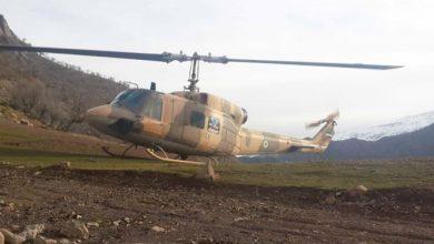 Photo of ۱۰۸ سورتی پرواز هوانیروز برای مهار آتش جنگل های خائیز