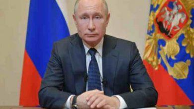 تصویر از پوتین کمترین میزان محبوبیت مردمی را تجربه میکند