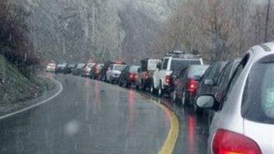 تصویر از آخرین وضعیت جوی و ترافیکی راههای کشور