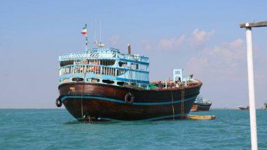 تصویر از علت غرق شدن شناور ایرانی در آبهای عراق