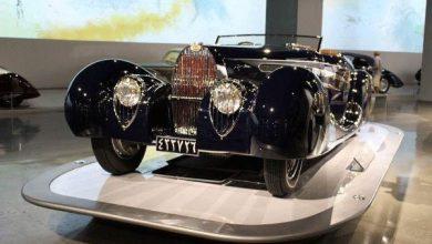 تصویر از گران ترین خودروی تاریخی ایران کجاست؟