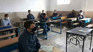 تصویر از دانشآموزان مشکوک به کرونا، به اتاقهای ایزوله حوزههای امتحانی منتقل میشوند