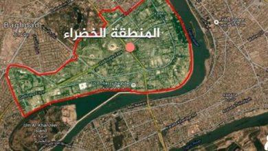 تصویر از شلیک موشک به الخضرای بغداد، آژیر خطر در سفارت آمریکا