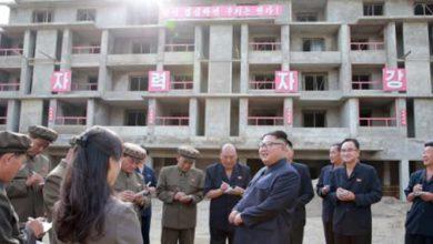 تصویر از شنیده شدن صدای انفجار در منطقه مرزی دو کره