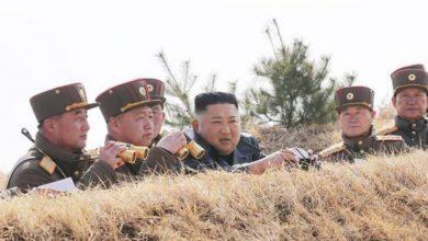 تصویر از استقرار دوباره جنگی کره شمالی در مناطق مرزی