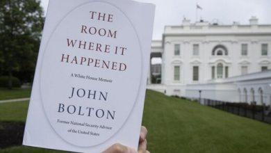 تصویر از اولین کشور به کتاب بولتون واکنش نشان داد