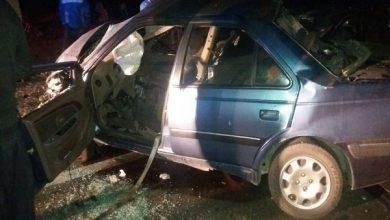 تصویر از تصادف مرگبار در جاده مشگین شهر به پارس آباد با 8 کشته